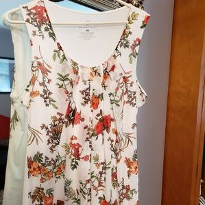 New York & Company Floral Tank